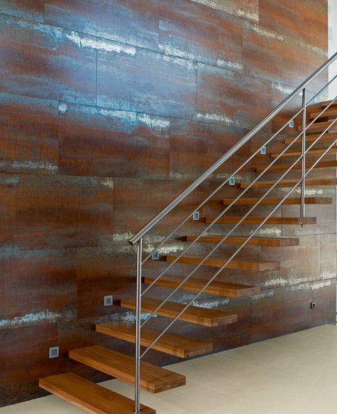 Wall/floor tiles with metal effect LIGHT - LIGHT FLOOR METALLIC by revigres