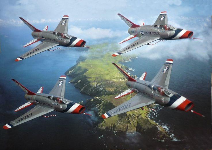 Thunderbirds F-100 Super Sabre | North American F-100 ...