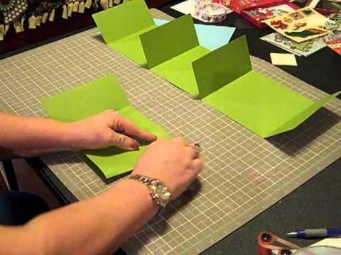 Cardstock Mini Album - fast to make, cute little gift!