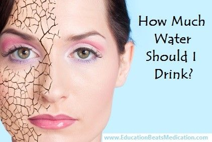 How much water should I drink sarcoidosis