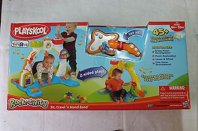 New Hasbro Playskool Rocktivity Sit, Crawl and Stand Band Activity Arch - BUY NOW ONLY 49.95