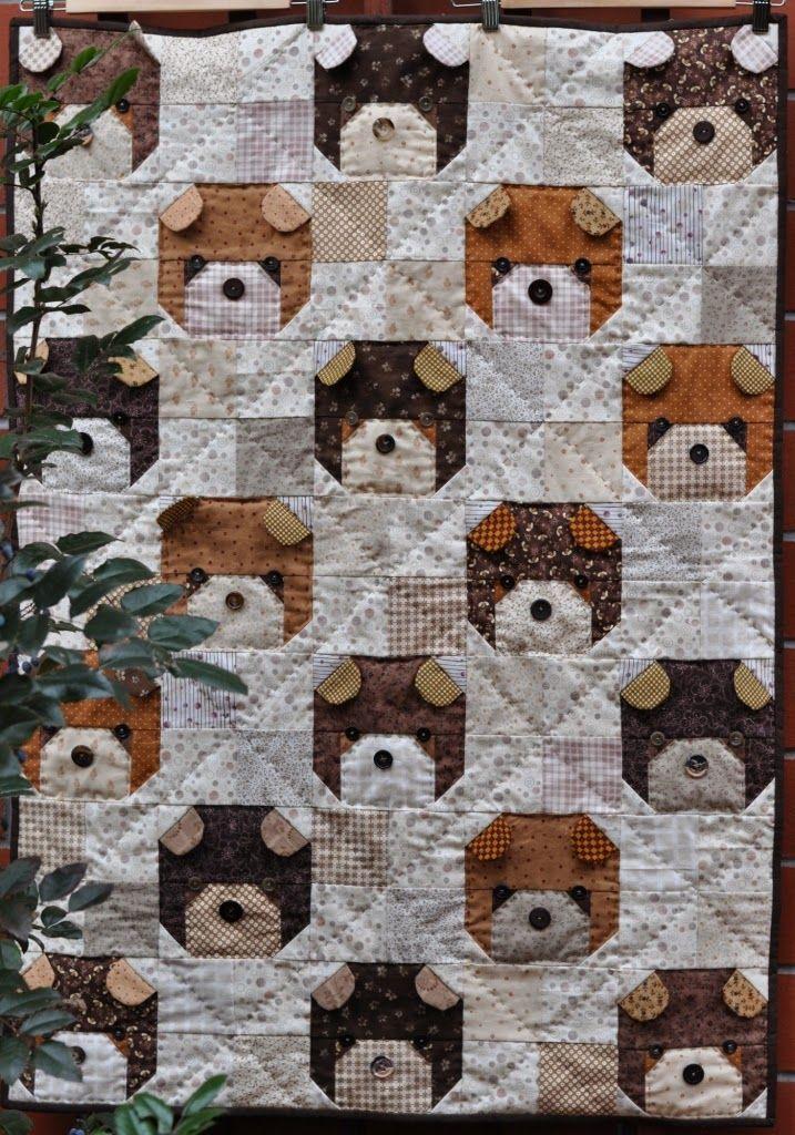 """""""Kiltowo"""" cult quilting: Teddy Bear"""