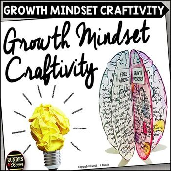 Growth Mindset CraftivityGet your students thinking about their thinking with this growth mindset craftivity. This resource focuses on the differences between fixed and growth mindset. There are 6 panels, each with a different question to answer. There is also a blank template panel if you want to add your own question.