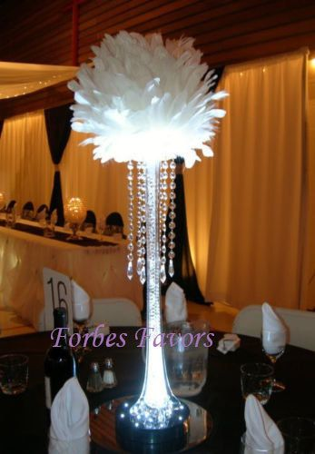 24 Hanging Crystal Garland with Crystal by ForbesFavors on Etsy