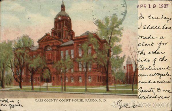Cass County Court House Fargo Nd Fargo Nd Pinterest County Court House And Cas