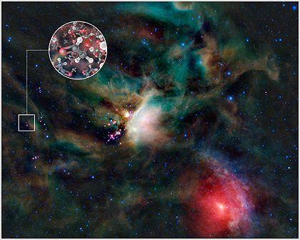 Ανιχνεύθηκαν μόρια σακχάρων γύρω από άστρο