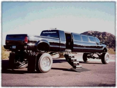 redneck party bus....I would probably wreck if I saw this on the road b/c I wouldn't be able to keep my eyes off of it!