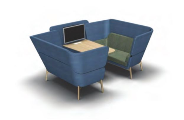 Harc Booth - Product page: http://www.genesys-uk.com/Harc-Booth.Html  Genesys Office Furniture Homepage: http://www.genesys-uk.com  The Harc Booth has been created to facilitate the basic need to listen and to provide a comfortable place to reduce the surrounding noise. The name Harc echoes the arc shape with its sweeping curves that wrap around to create a warm and cosy enclosure.