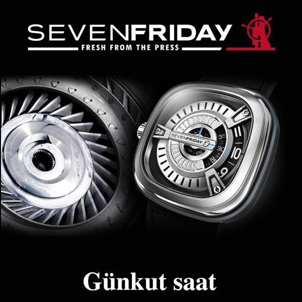 Asil duruşu ve şık tasarımıyla Seven Friday, Günkut Saat'te…   Hemen satın almak için;  http://www.gunkutsaat.com/pinfo.asp?pid=46740