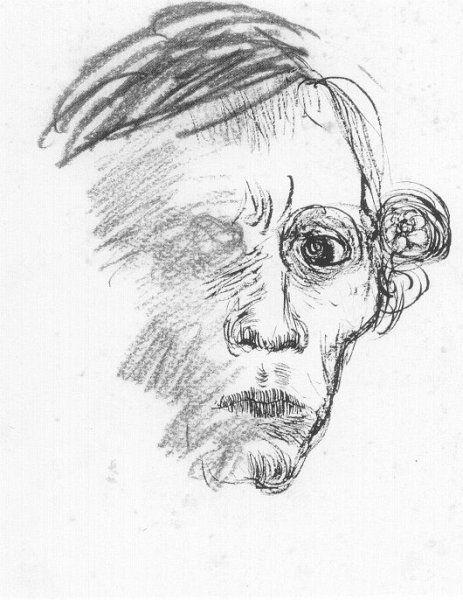 jan mankes | Jan Mankes. Self portrait. 1913