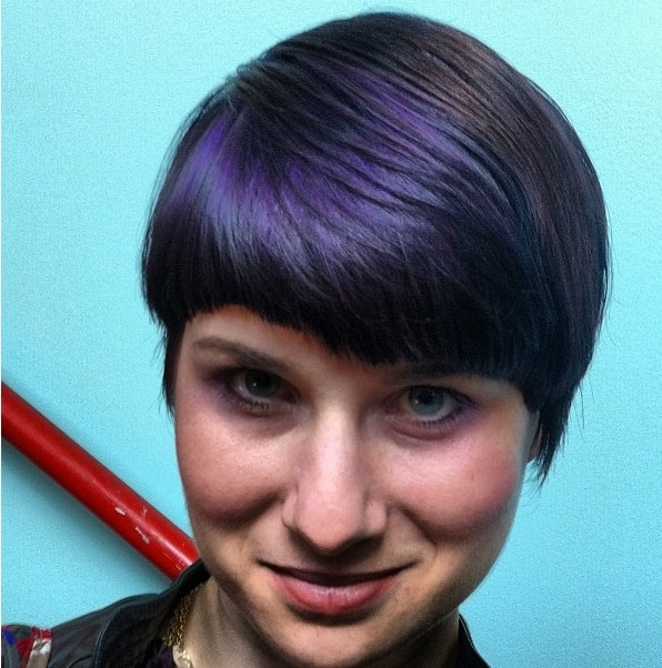 Black/blue hair color done with Elumen by Phil! #elumen #hair #color #nofilter #amazing #ammoniafree #kmscalifornia #goldwell #gogreen #sick #sparkshairdesign #fierce www.facebook.com/sparkshairdesign www.sparkshairdesign.com
