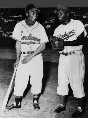 """Today at the South Pasadena Public Library, the Baseball Reliquary opens an exhibit titled """"And The Walls Came Tumblin' Down: Pioneers of Baseball's Integration."""": Control Quotes, Baseball Integration, Baseball Reliquari, Baseb Reliquari, 15517Algjpeg 18632332, Public Libraries"""