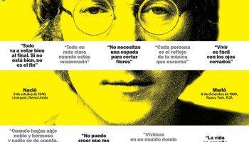 10 citas célebres de john Lennon #infografia #infographic #citas #quotes