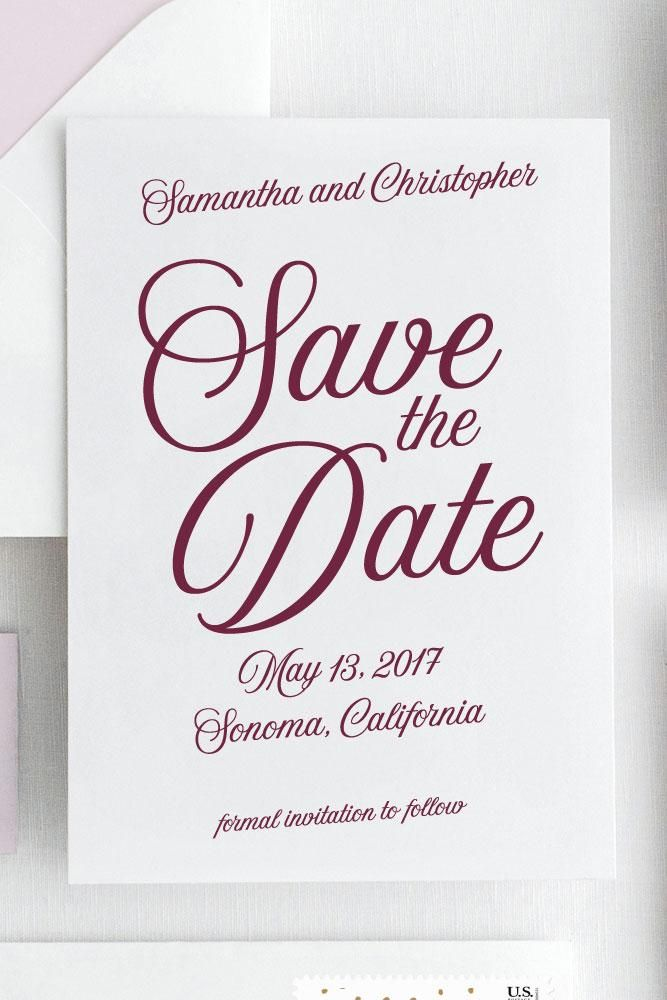 samantha save the date the wedding invitation company semi