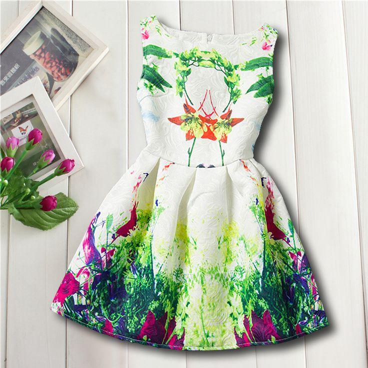 $24.20 (Buy here: https://alitems.com/g/1e8d114494ebda23ff8b16525dc3e8/?i=5&ulp=https%3A%2F%2Fwww.aliexpress.com%2Fitem%2F130-160cm-Casual-Floral-Print-Teenage-Girls-Clothing-Roupas-De-Menina-Kinderkleding-Meisjes-Summer-Dresses-Robe%2F32733684800.html ) 130-160cm Casual Floral Print Teenage Girls Clothing Roupas De Menina Kinderkleding Meisjes Summer Dresses Robe Pour Fille for just $24.20