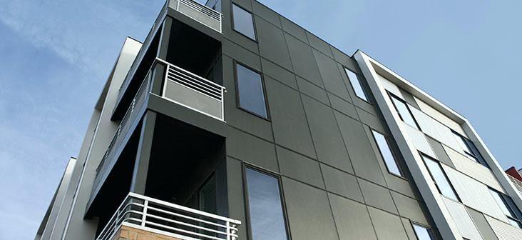 Stucco Facade Metal Building