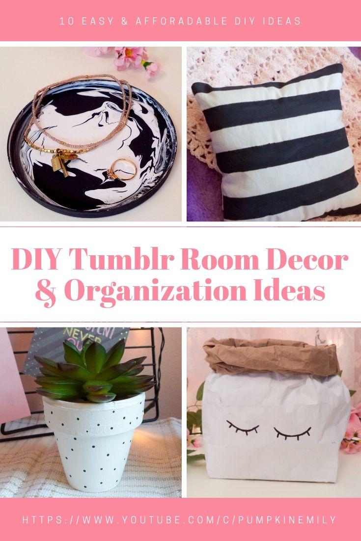 10 Easy Affordable Diy Tumblr Room Decor Organization Ideas