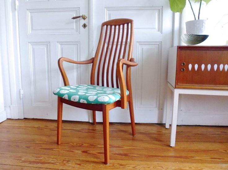 Selten dänischer Schou Andersen Teak Stuhl Sessel  von ILoveSparrows auf DaWanda.com