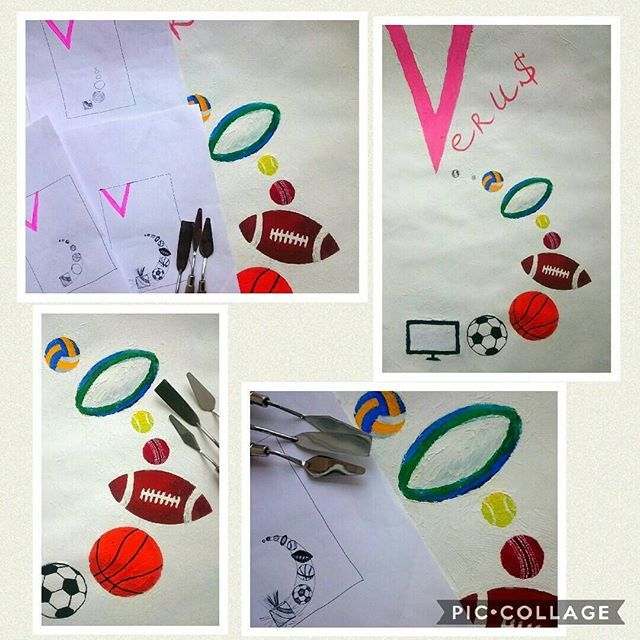 "The ""Verus Ball"". 2017 What kinds of sports with the ball are the most broadcasting? It became interesting to me to think about on this question. Then the picture was appeared behind my eyes. Or art-infographic as I call it.  I realized that 9 popular sports (football, basketball, american football, cricket, tennis, rugby, volleyball, golf and baseball) create a system similar to our solar system. Each sports is a planet with its unique external image and internal world. Each of the planets…"