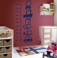 Medidor niño cochecitos: Decoración de habitaciones infantiles, decoración de habitaciones, decoración de paredes, vinilo, adhesivo. Trabajo de decoraconimaginacion.com