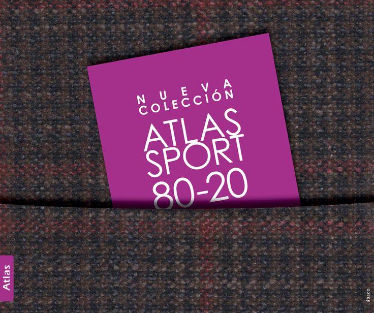 Paños Atlas Sport 80-20, Wool, suit, fashion, style.