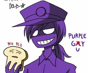 Five Nights At Freddys Purple Guy Gets Kids