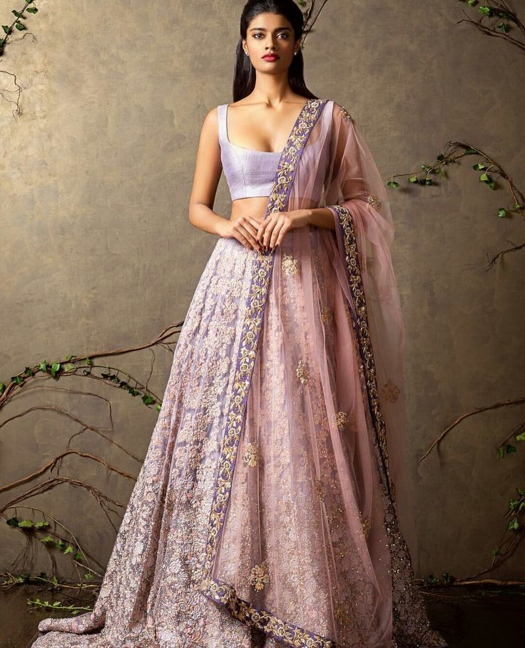 15 best Lengha images on Pinterest | Indian gowns, India fashion and ...