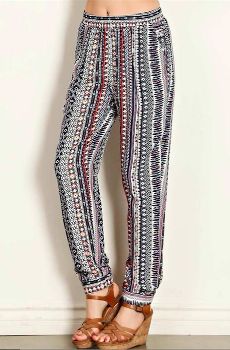 I Dream of Aztec Pants
