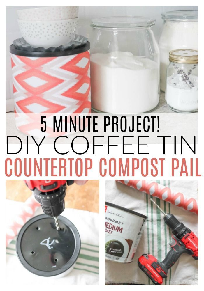 Combat Kitchen Odours With A Diy Compost Bin Compost Bin Diy Diy Compost Kitchen Compost Bin