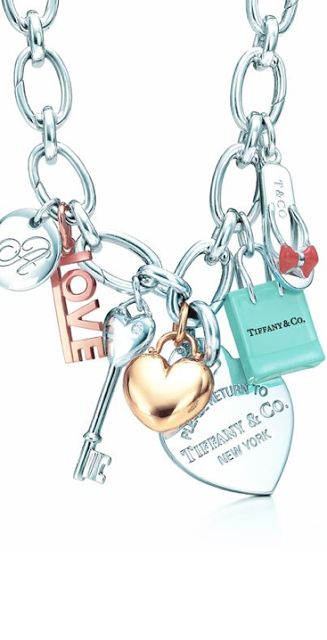 Look & LovewithLoLo: TIFFANY & CO necklace with hinges - great piece and charms too!!!!