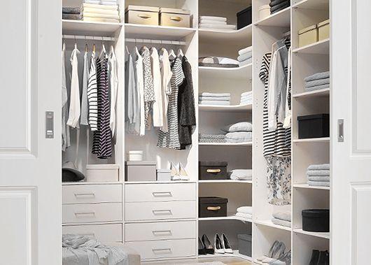 Walk through closet