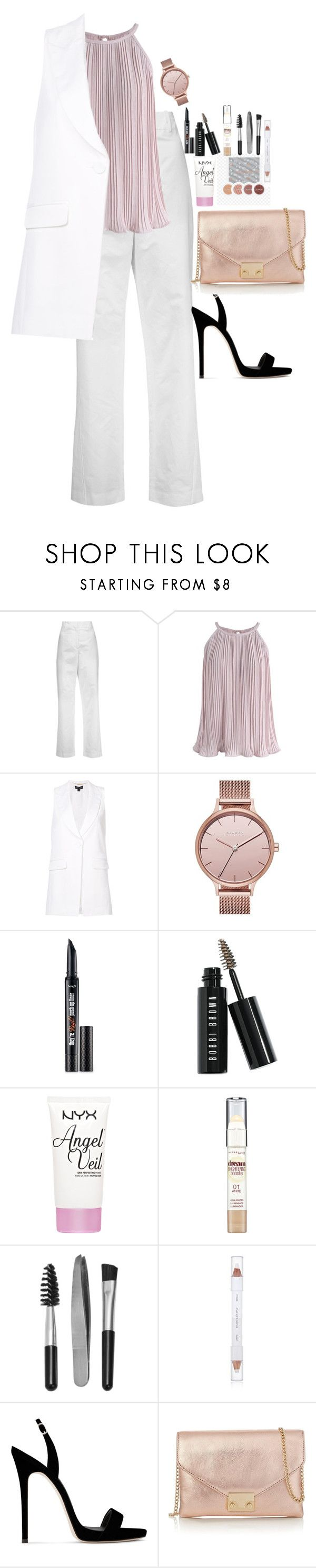 """""""Untitled #4417"""" by veronicaptr ❤ liked on Polyvore featuring Acne Studios, Chicwish, Rachel Zoe, Skagen, Benefit, Bobbi Brown Cosmetics, NYX, Maybelline, Sephora Collection and shu uemura"""