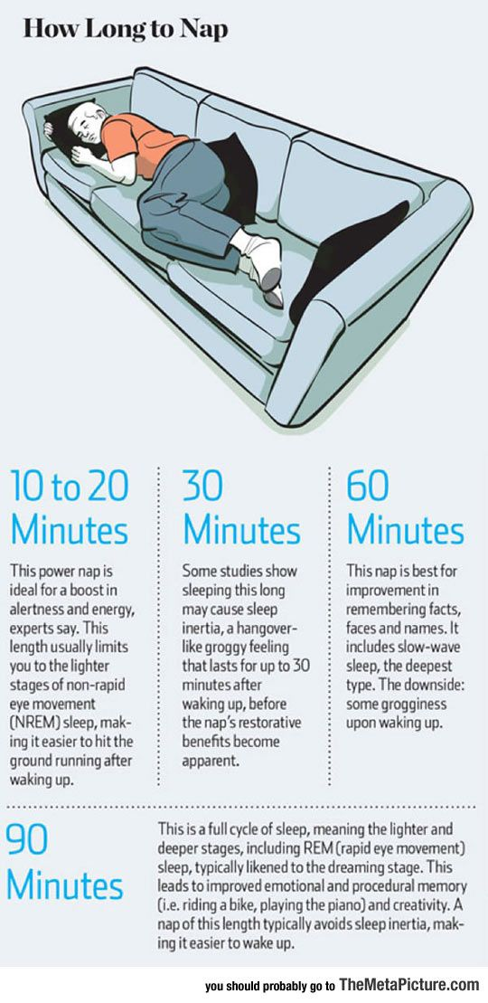 How Long To Nap For The Biggest Brain Benefits