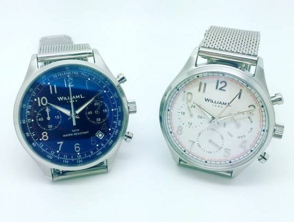 Men's watches by William L 1985