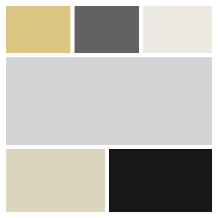 My Wedding Pallette - Grey, Black, Beige, Charcoal, Gold, Nude