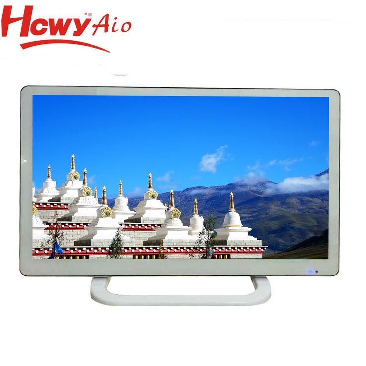 "23"" Television DC12V 1920*1080 Resolution LED TV with Wide Viewing Angle"