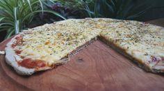 Una masa de pizza de trigo sarraceno, sin gluten y apta para celíacos.