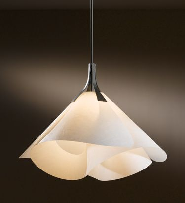 Hubbardton forge #134503.  Pendant light for over comfy reading chairs in library and master bedroom