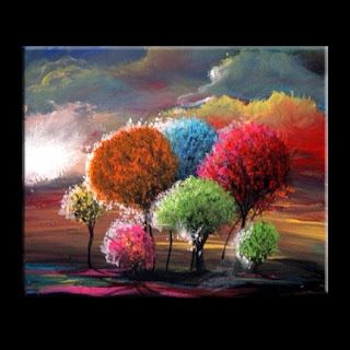 Best Canvas Painting Images On Pinterest Canvas Paintings - Abstract art canvas painting ideas