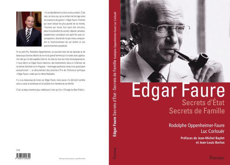 [Interview] Rodolphe Oppenheimer dédie un livre à la mémoire de son grand-père, Edgar Faure