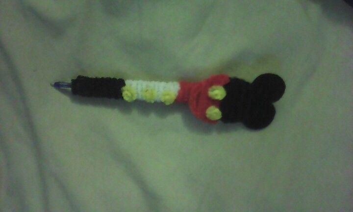 Pluma de mickey mouse