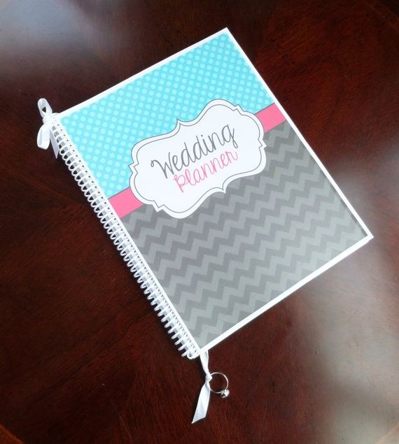 Wedding Planner and Organizer  Tiana Cover by OrganizedBride, $32.00