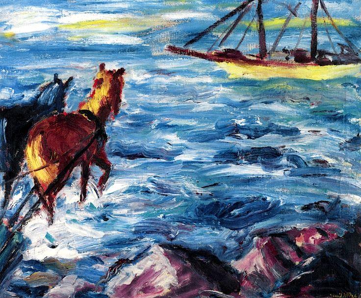 Embarcation Эмиль Нольде - 1911