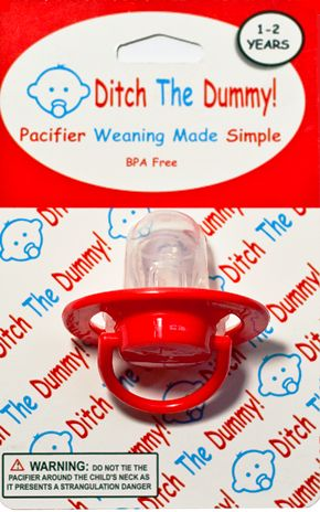 One step pacifier weaning