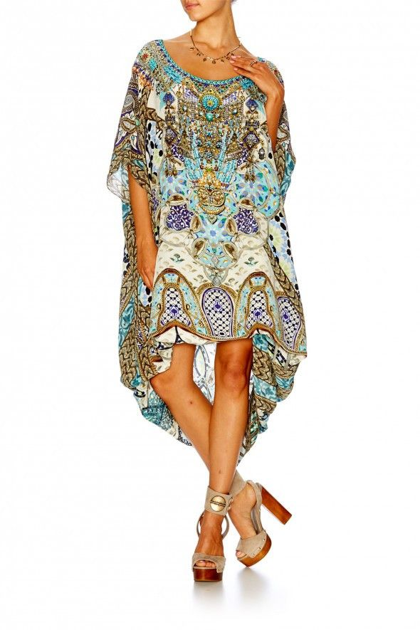 Camilla - Meet Me In Casablanca / Round Neck Kaftan