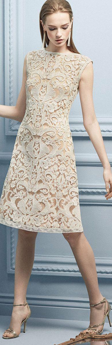 Shop for Tadashi Shoji | Cream lace dresses, Cream and Trends