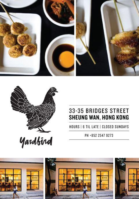 Yardbind, Hong Kong.