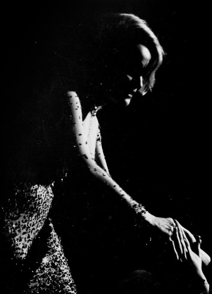 Arno Fischer   Marlene Dietrich, Moskau 1964