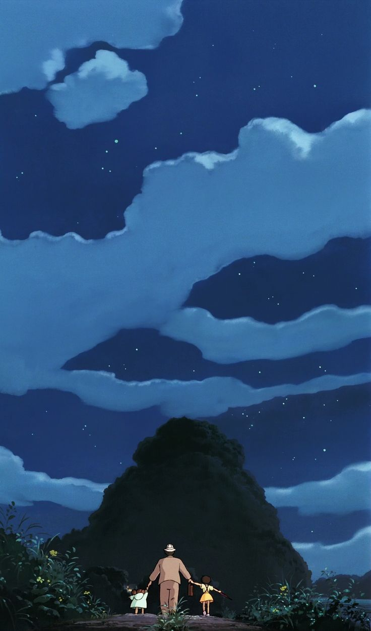 [스튜디오 지브리 일러] 이웃집 토토로 {となりの トトロ: My Neighbor Totoro, 1988} | KEY를 사랑하는 어느 번역가의 환상향