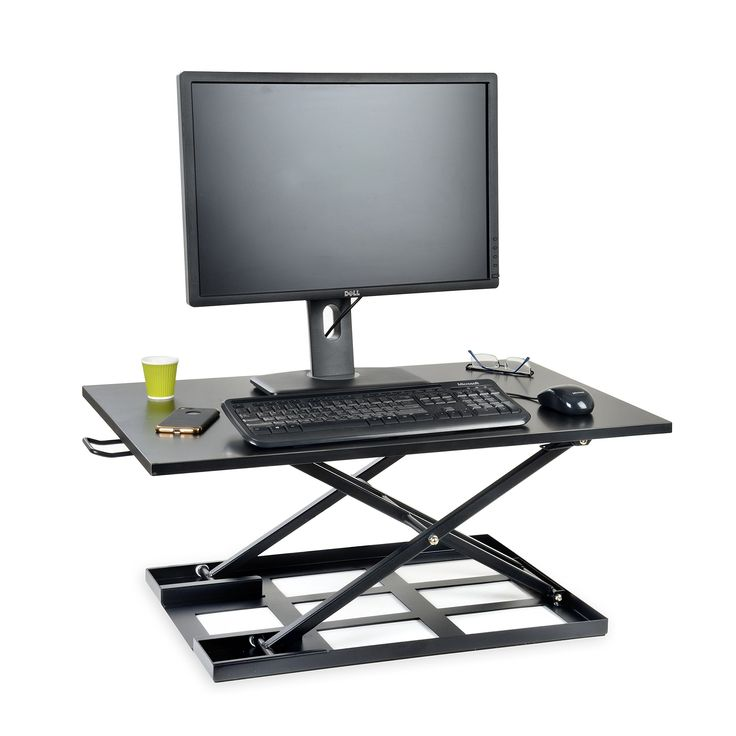 best 25 stand up desk ideas on pinterest standing desks diy standing desk and laptop stand. Black Bedroom Furniture Sets. Home Design Ideas